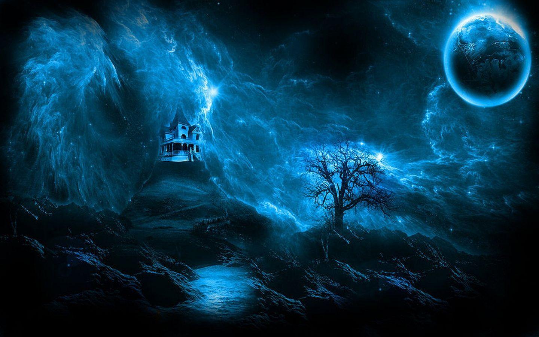 Fantasy Dark Castles Night Coders Wallpaper Abyss