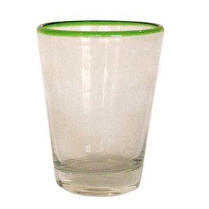 Tumbler Green Rim Set Of 4 now featured on Fab.