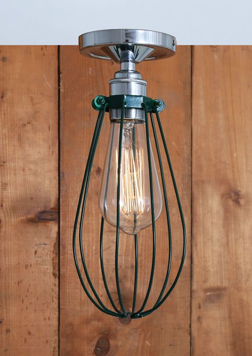 Vox flush ceiling light mullan lighting lime lace £44 ceilinglight lighting industrial