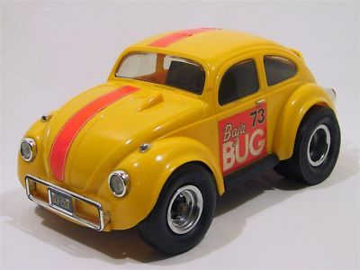 Cox Baja Bug | VINTAGE 1973 YELLOW COX BAJA BUG .049 GAS VW TOY CAR
