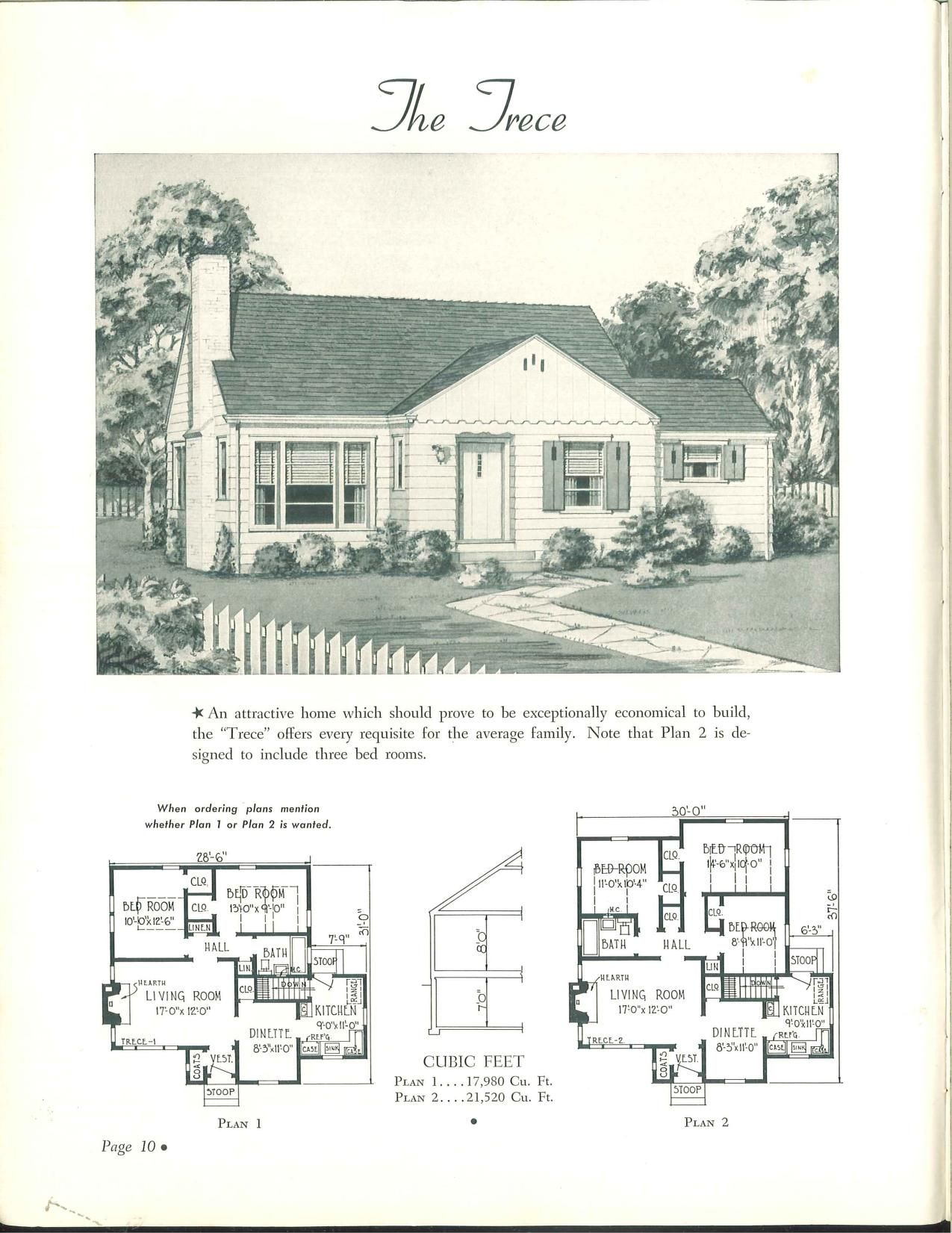 Enjoy The Protection Of Your Own Home National Plan Service Inc Whalfeld Free Download Borrow And Streaming Internet Archive Building Plans House House Plans With Pictures Cottage Floor Plans