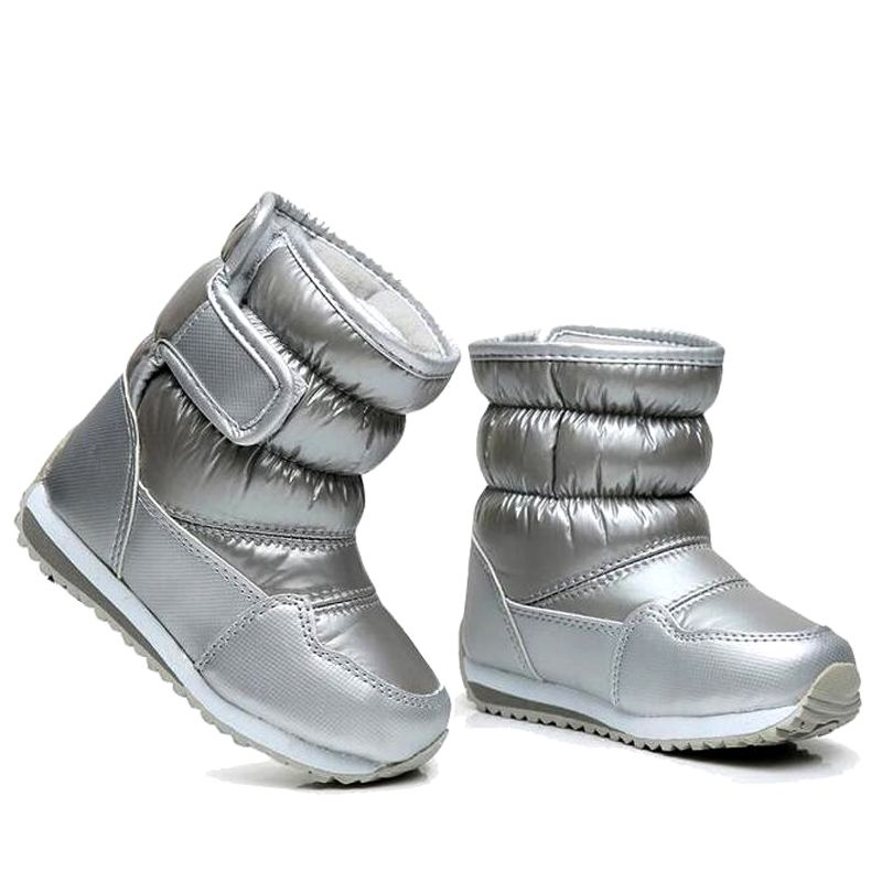 Children S Rubber Boots For Girls Boys Mid Calf Bungee Lacing Snow Boots Waterproof Girls Boot Sport Shoes Fur L Zapatos Para Ninas Botas De Nina Botas Zapatos