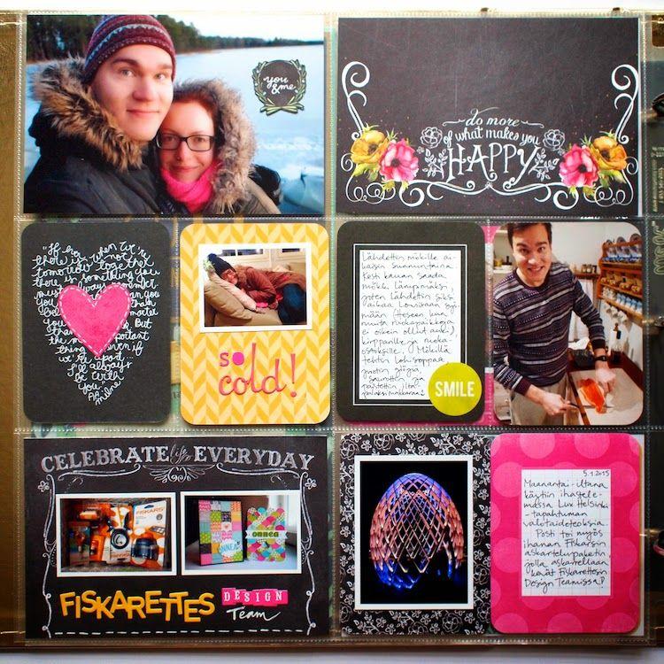 Paperikaramelli: Project Life January 2015