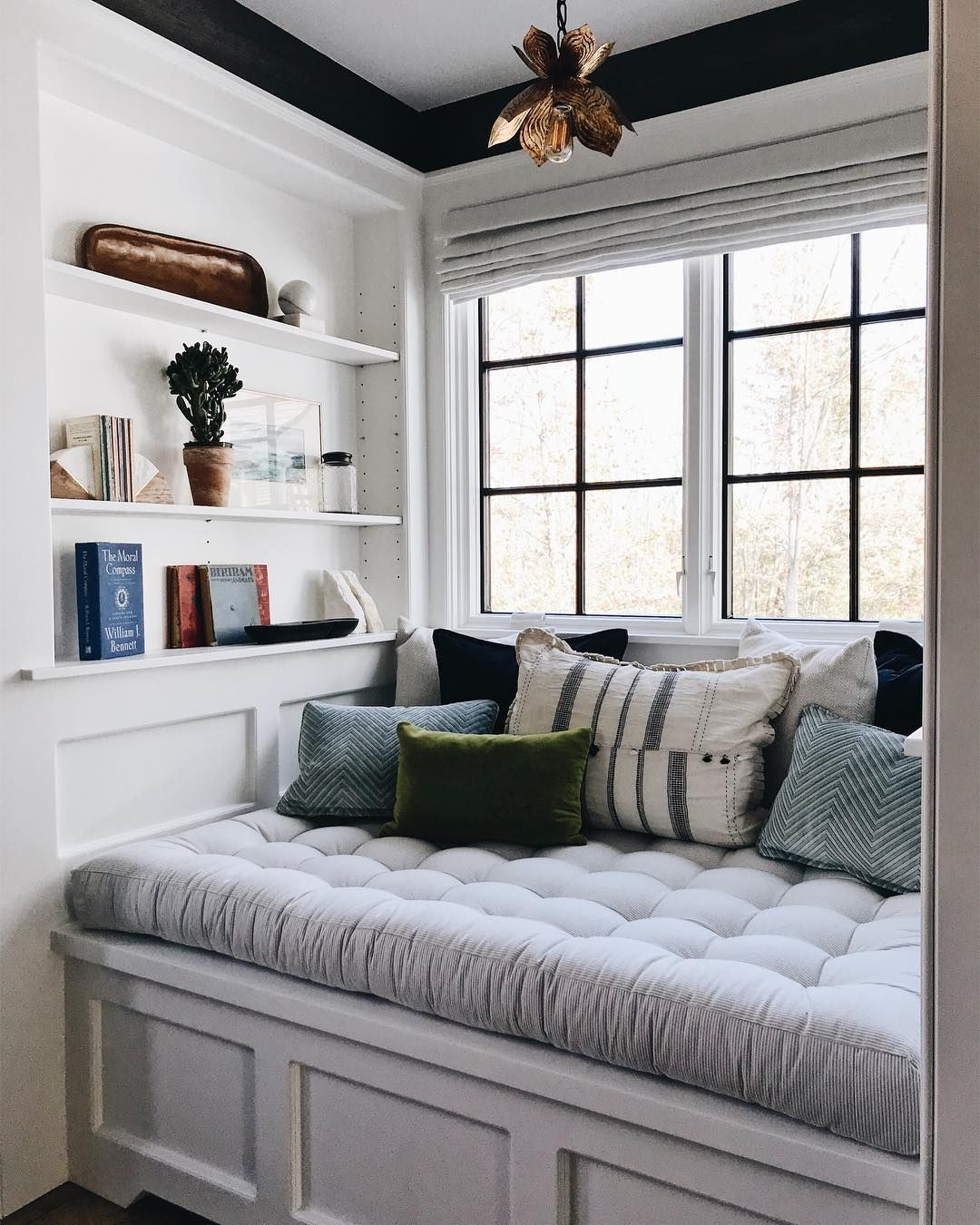 Cute Reading Nook Would Love To Do This In The Unused Part