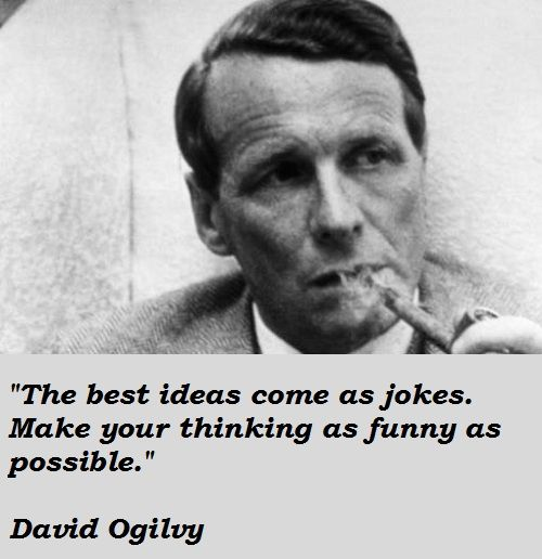 David Ogilvy Quotes Glamorous Bestsellerauthorpresented The Public The Idea Of Ethical