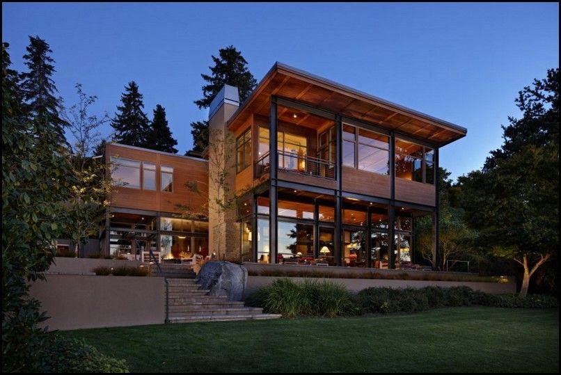 Modern House Plans Basement photo - 9 | Modern lake house ...