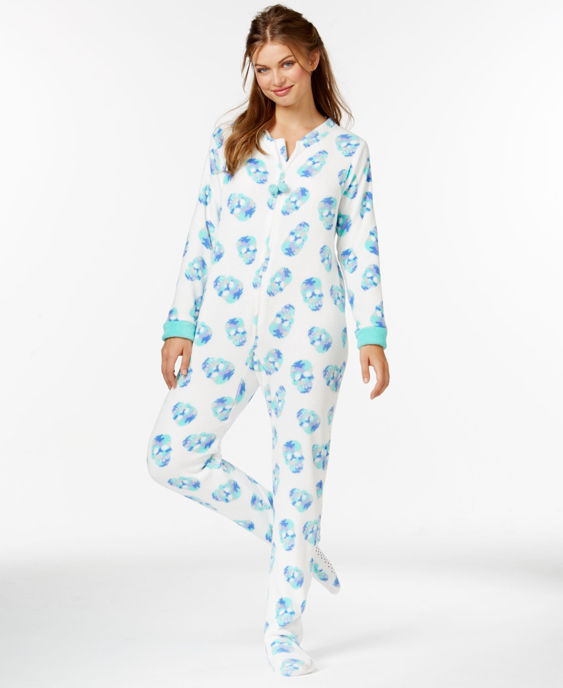 Plus Size Footie Pajamas For Adults