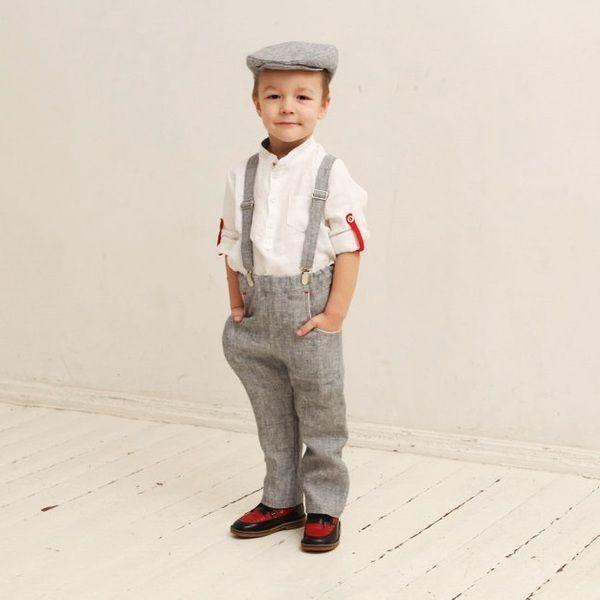 Outfit 4er Set Jungen Baby Taufe Hochzeit Anzug Hochzeitsfeier Outfit Outfit Partyoutfit