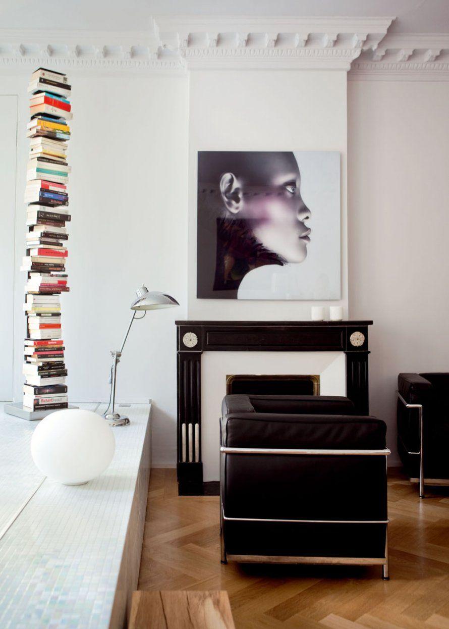 Design Fireplace Salon Avec Chemin Nos Ides