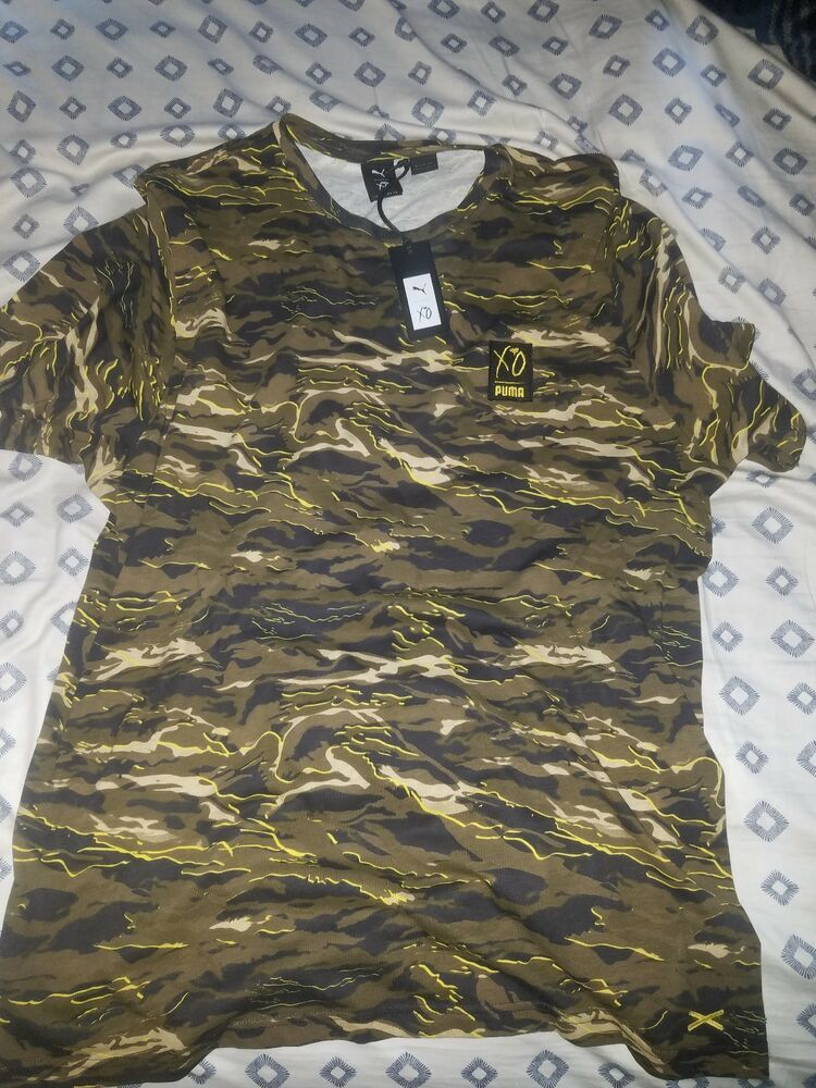 bdc47d1b6 The Weeknd PUMA X XO Camouflage T Shirt Camo Military Size XL Retails $65  #fashion #clothing #shoes #accessories #mensclothing #shirts (ebay link)