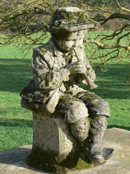 antique garden statue statues