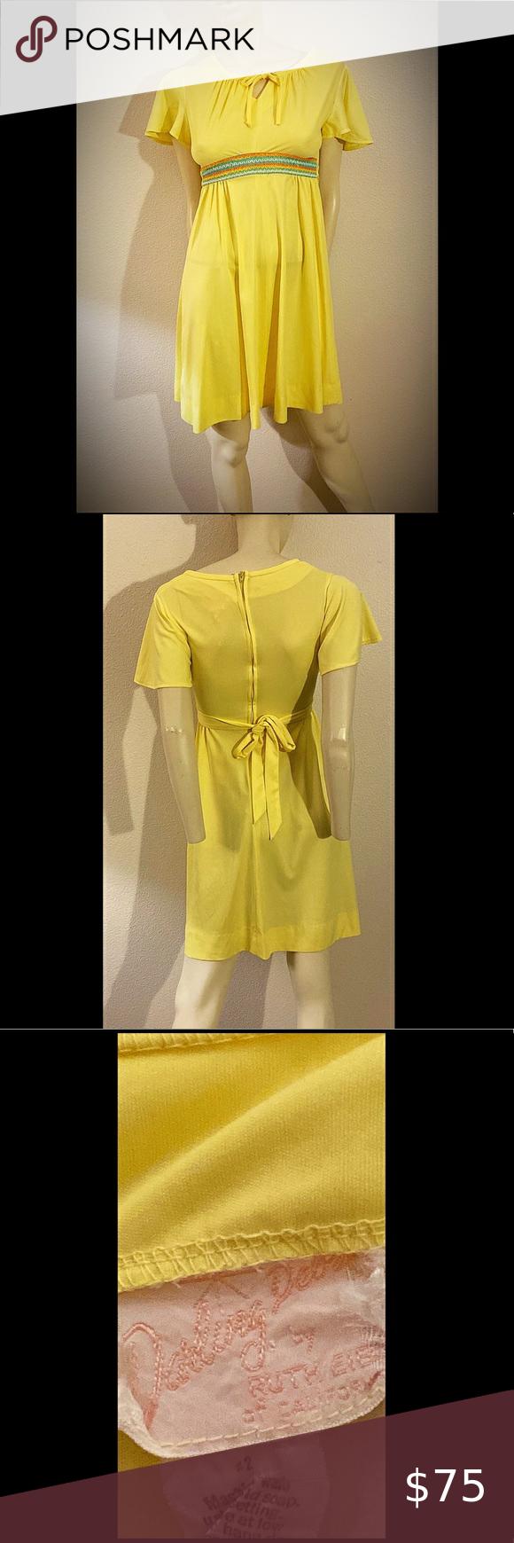 60s Babydoll Dress Darling Deb By Ruth Eib Babydoll Dress Dress Label Spring Summer Dress