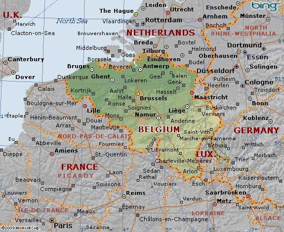 Map Of France Belgium.Belgium Geographical Map Of Belgium France Belgium Is Situated