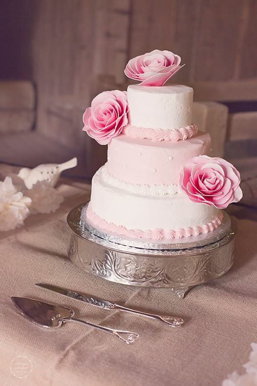 SAMs club wedding cake Ashleys wedding ideas Pinterest