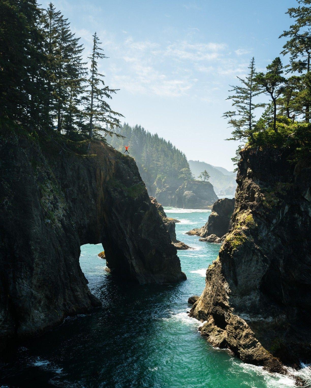 Samuel H. Boardman State Scenic Corridor, Curry County, Oregon — by Mason Thibo #oregoncoast