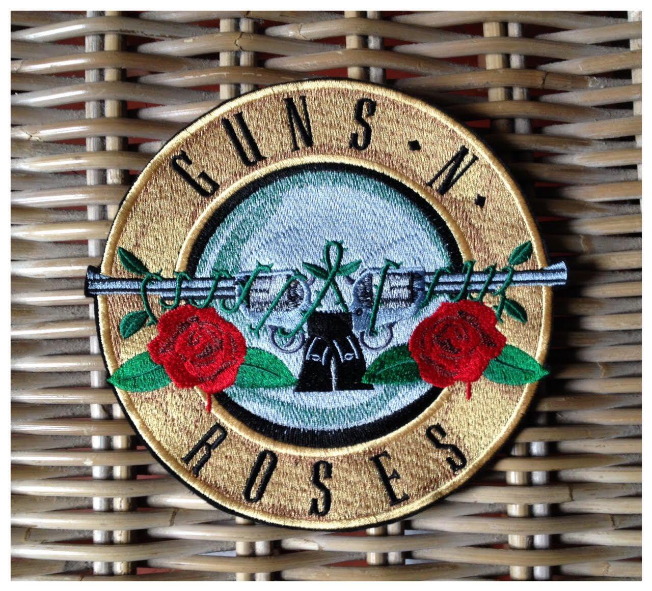 Large coat of arms patch applique Guns n Roses 18 cm