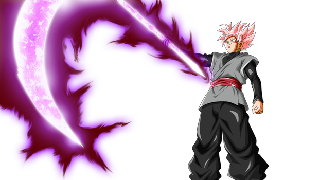 Goku Black Scythe By Rmehedi Anime Black Hair Goku Black Anime Warrior Girl