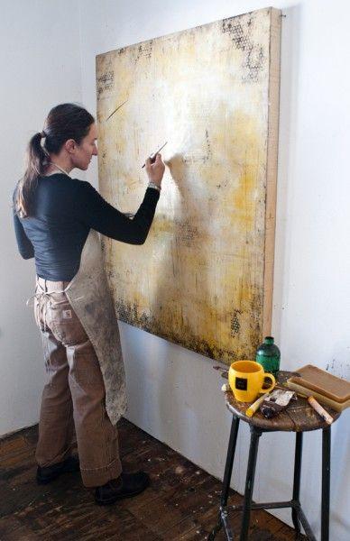 encaustic artist shawna moore -- love her work!!!