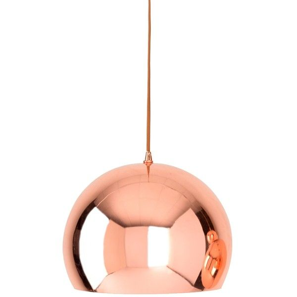Shiraleah Large Hamilton Copper Pendant 120 Nzd Liked On Polyvore Featuring Home