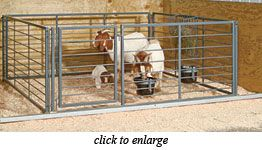 Little Mountain Steel Fabrication : Goat Pens - All Purpose Confinement