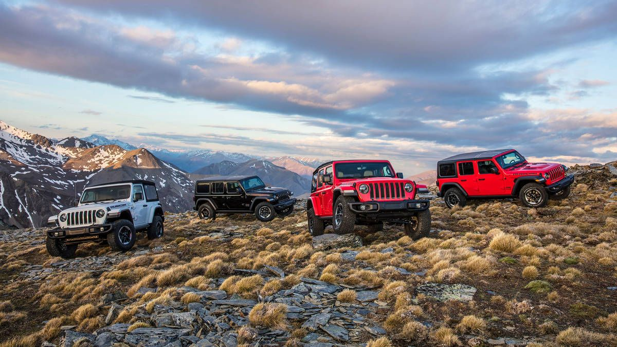 Differences Between 2018 Jeep Wrangler Jl And Wrangler Jk Jeep Wrangler