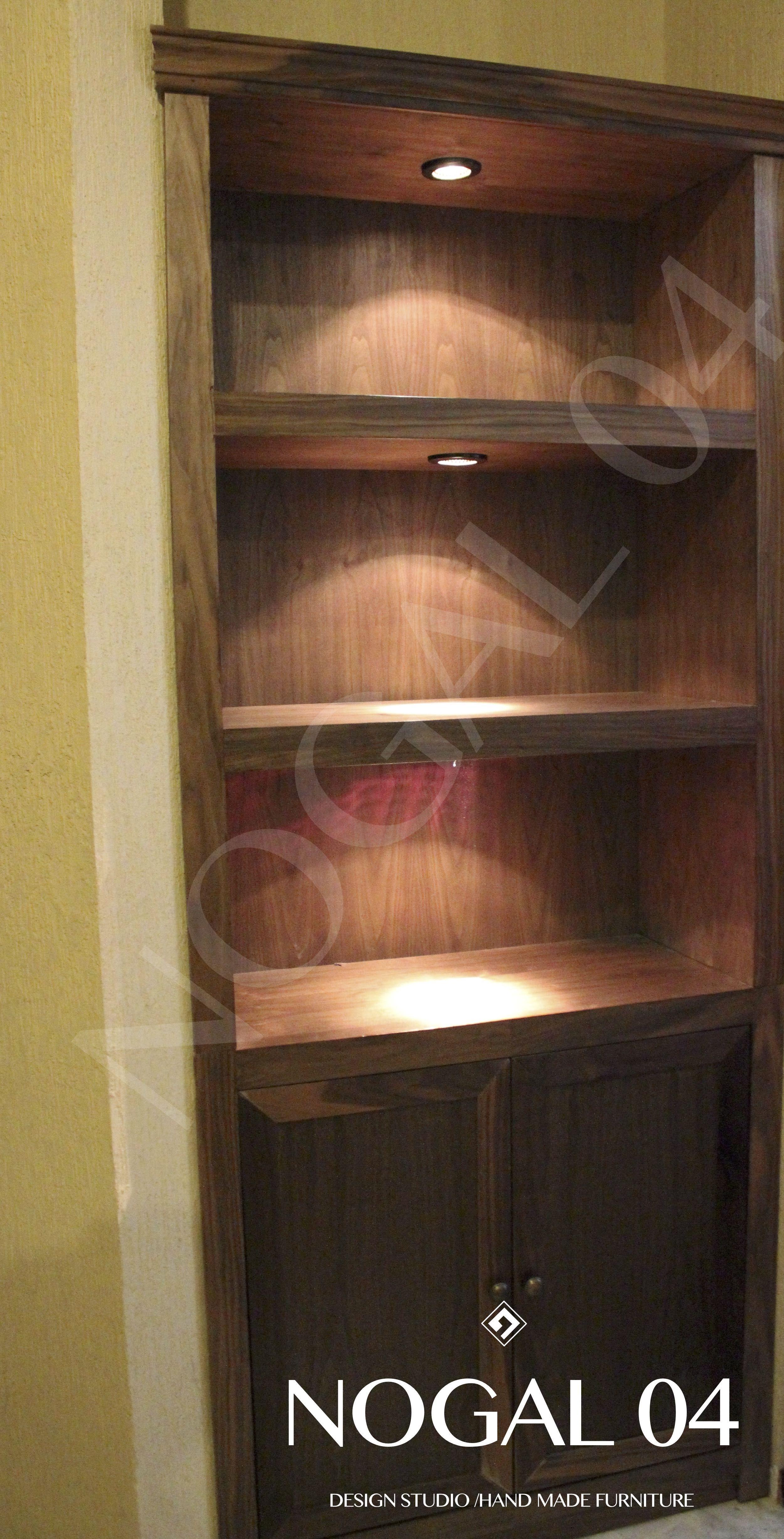 Mobiliario en madera de Nogal, diseño clásico. Diseñamos y ...
