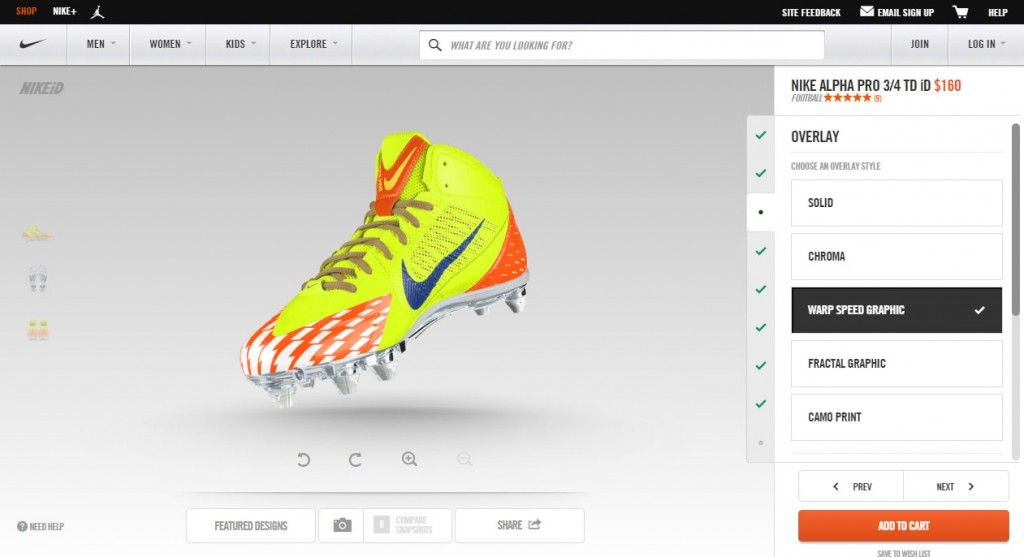 7f6584bda91199 Design Your Own NIKE Football Shoes