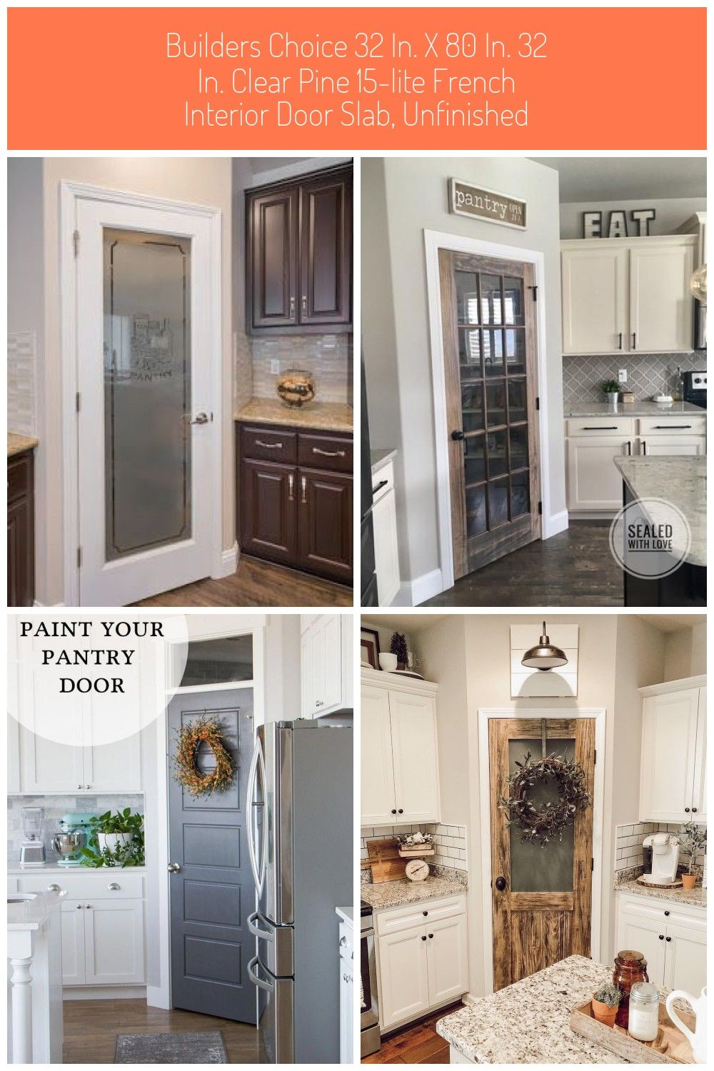 Builders Choice 15 Lite Clear Pine Doors Are Made With Soft Wood Pine Veneers For Long Lasting Style And Durability In Your Home With A Simple Traditional Desig In 2020
