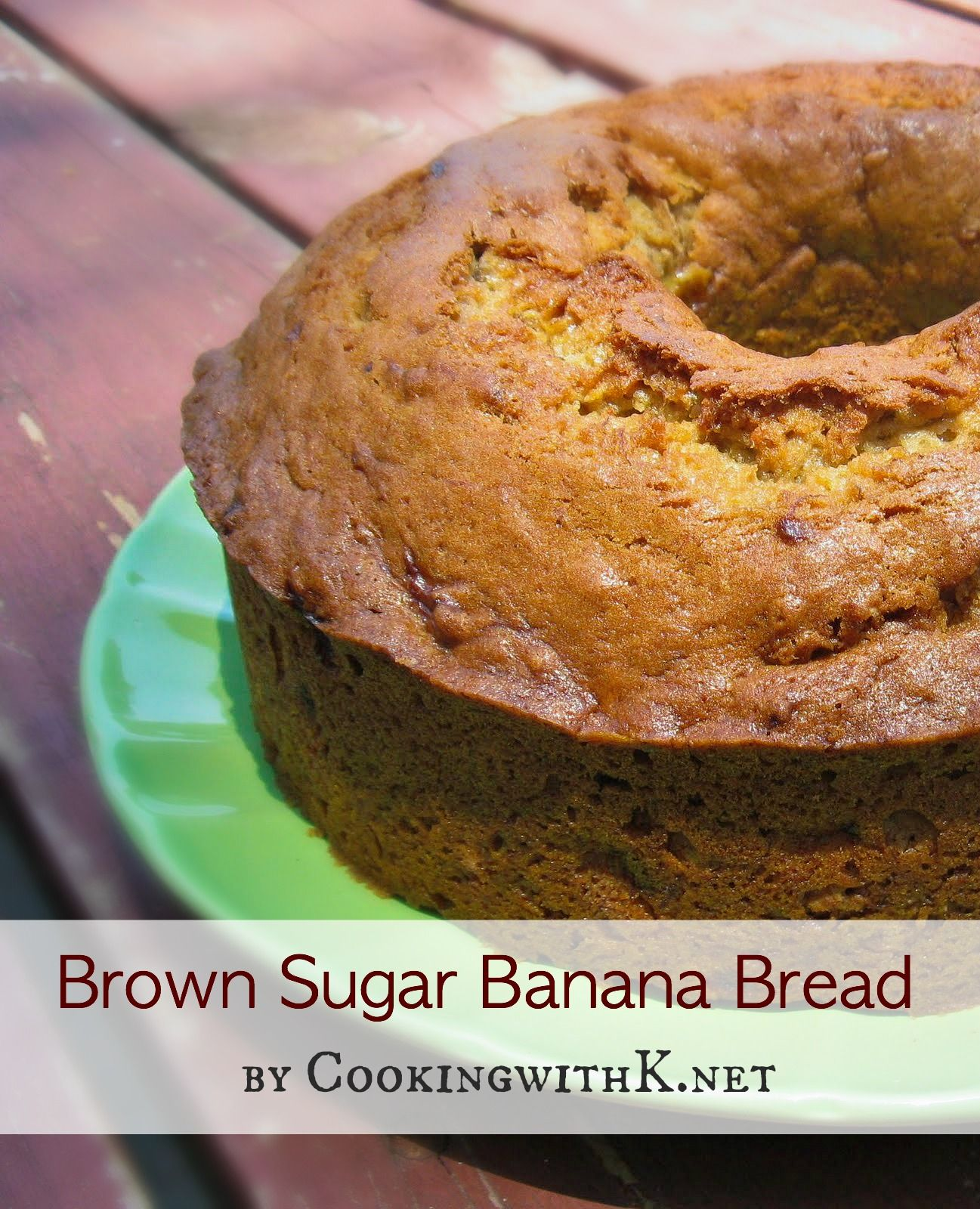 Brown sugar banana bread made with splenda banana bread brown food forumfinder Image collections