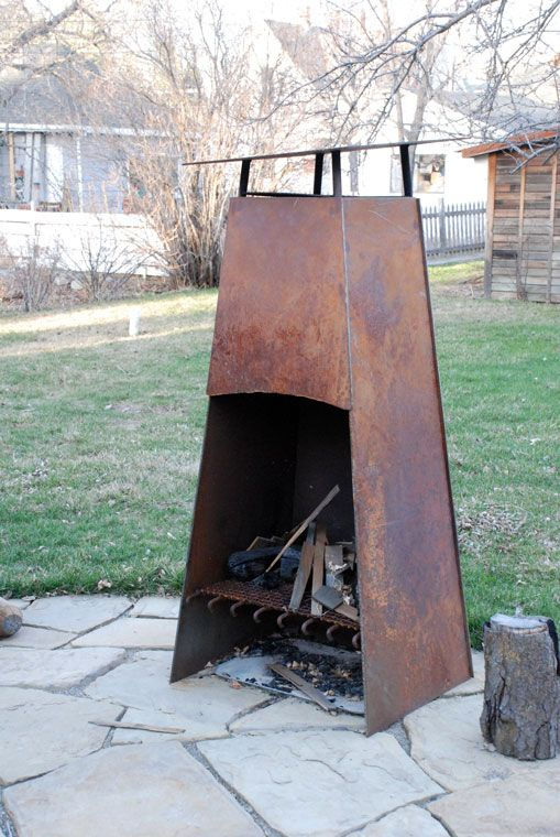with metal outdoor ideas fireplace design home chimney