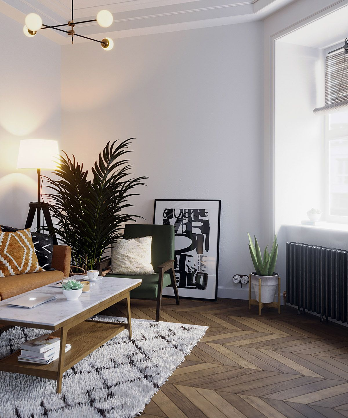 Earthy Eclectic Scandinavian Style Interior Earthy Home Decor Scandinavian Style Interior Earthy Home