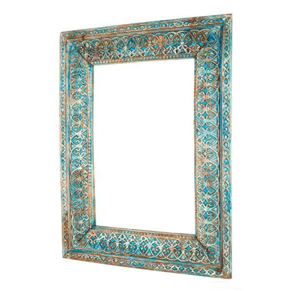 Ornate Balinese Carved Mirror