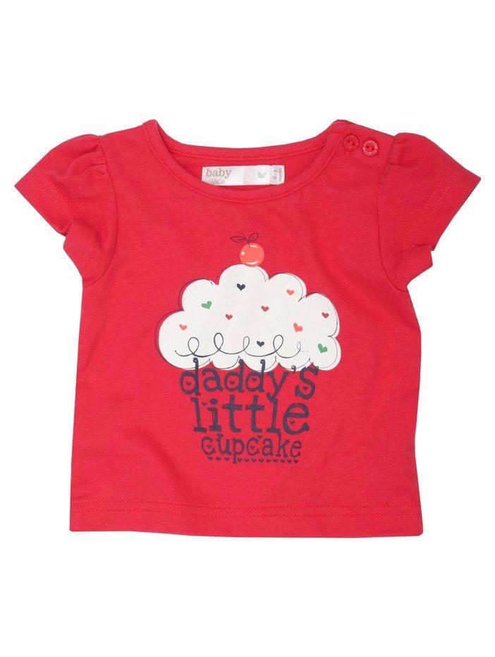 Little Cupcake Girls Kids Childrens T-Shirt