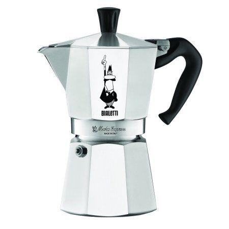 Bialetti Moka Stovetop Espresso Coffee Maker, 6 Cup - Walmart.com