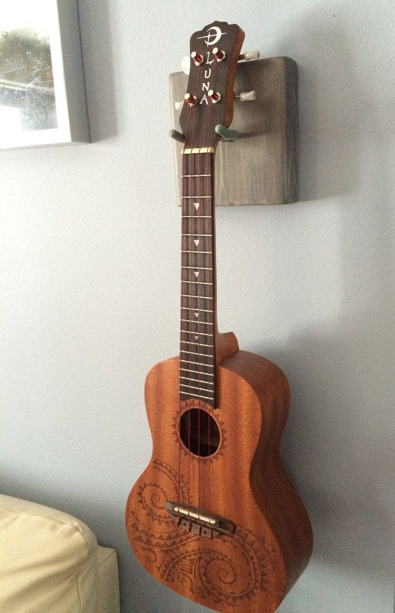 Wooden Block Ukulele Hanger Guitar Hanger Banjo Hanger