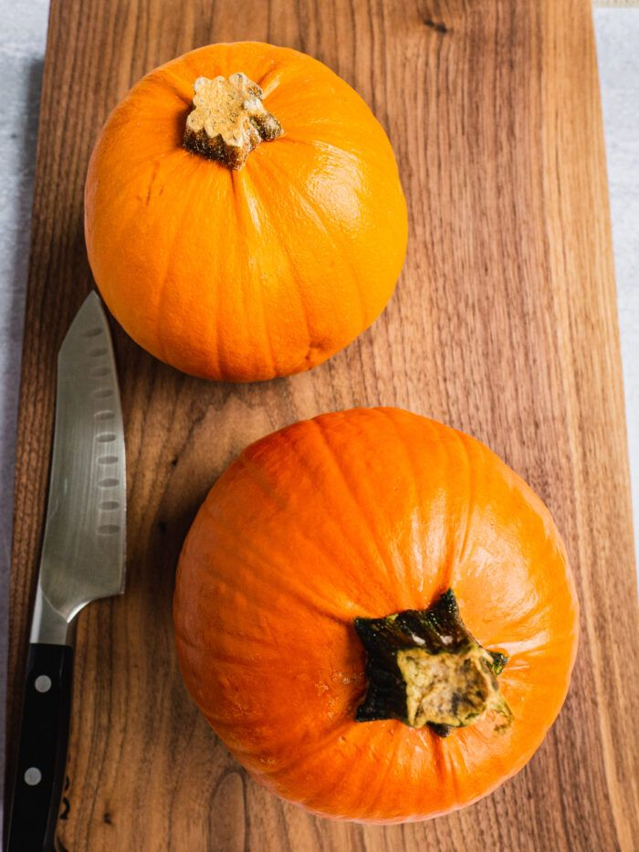 Homemade Pumpkin Puree Recipe #pumpkinpureerecipes