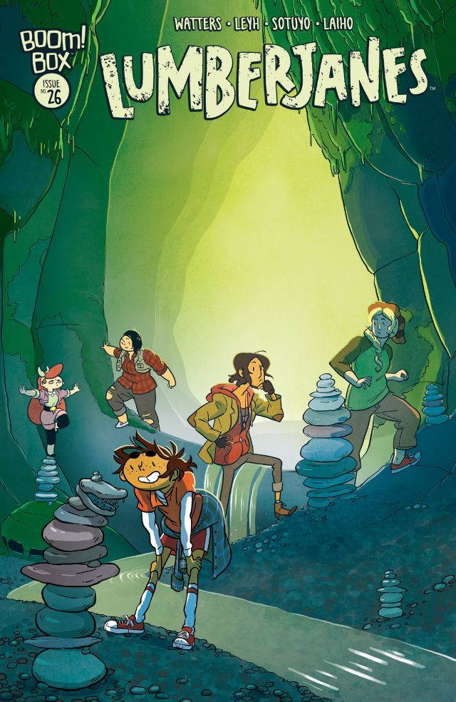 Lumberjanes #26  With Rosie and the High Council being stolen away, Jen suddenly finds herself in charge of the camp!