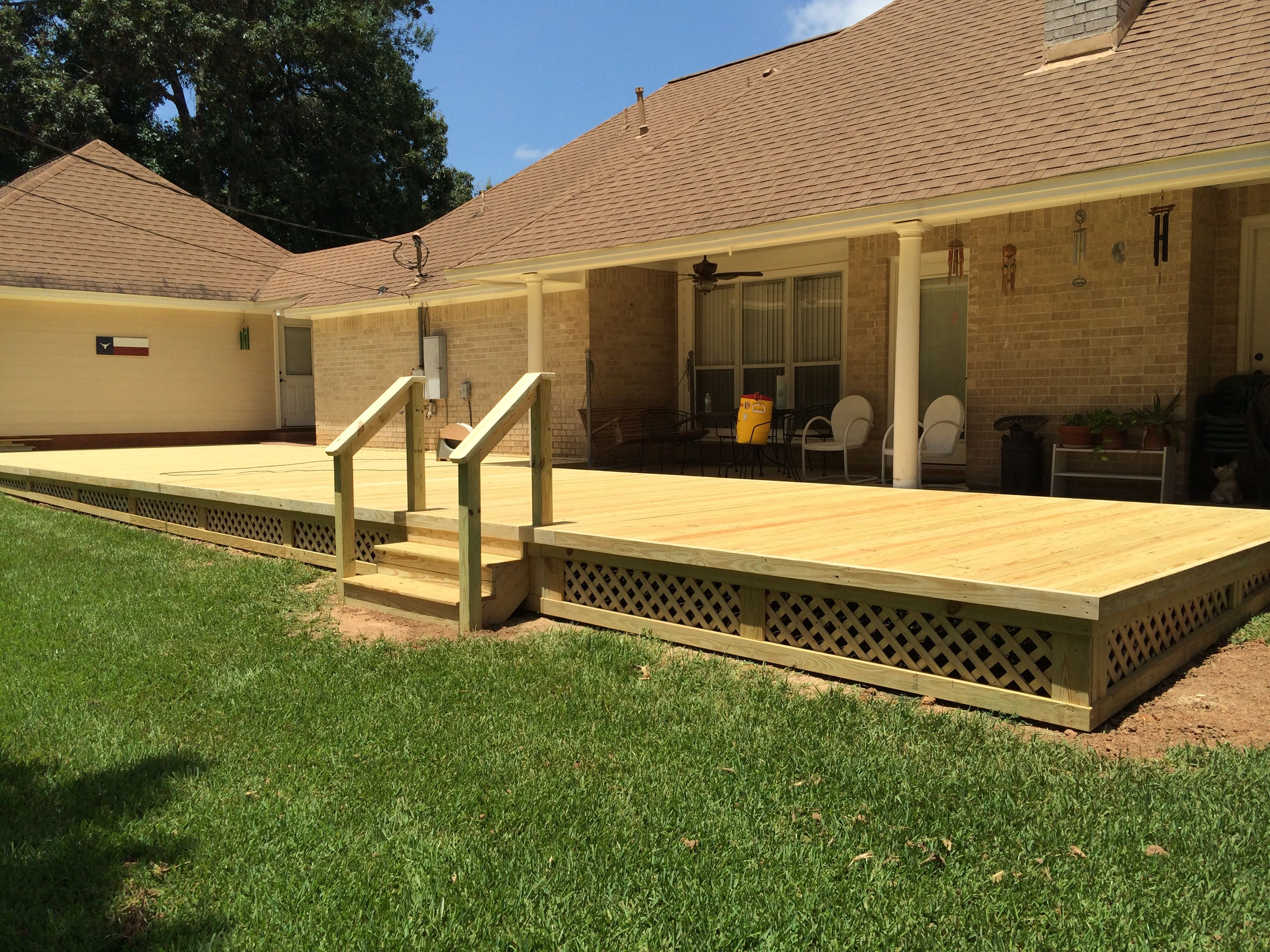 Deck job! LRcontractingllc.com | Outdoor decor, Home decor ...