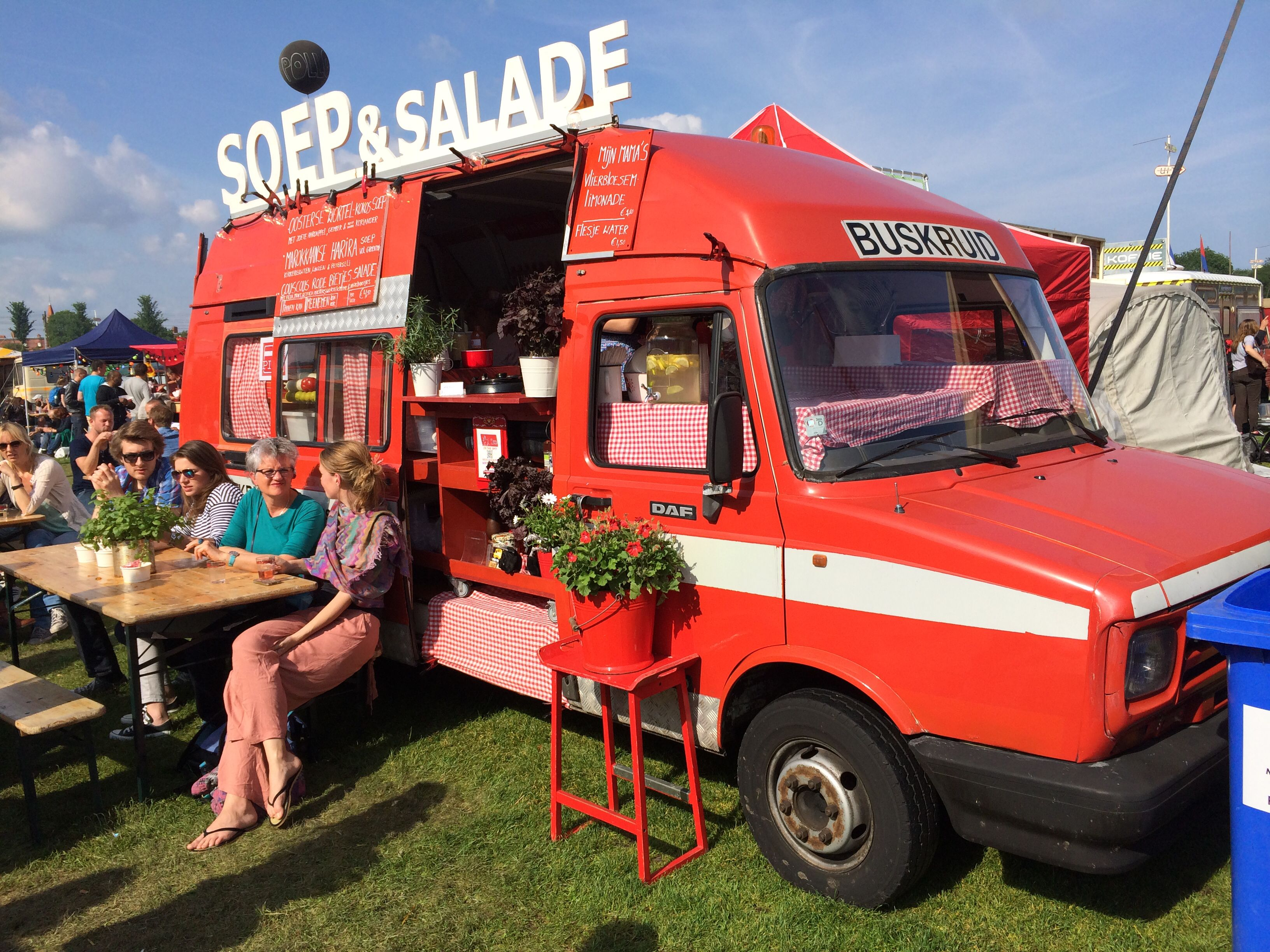 Soep Salade Rollende Keukens Amsterdam