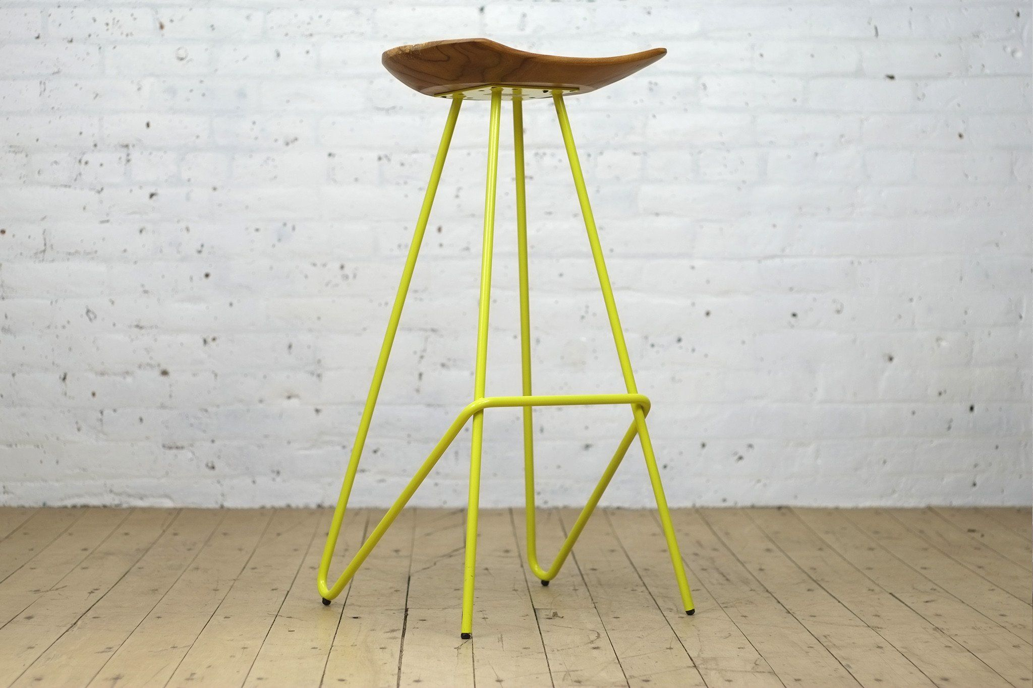 Perch Stool Yellow From The Source Stool Iron Stools Dining Stools