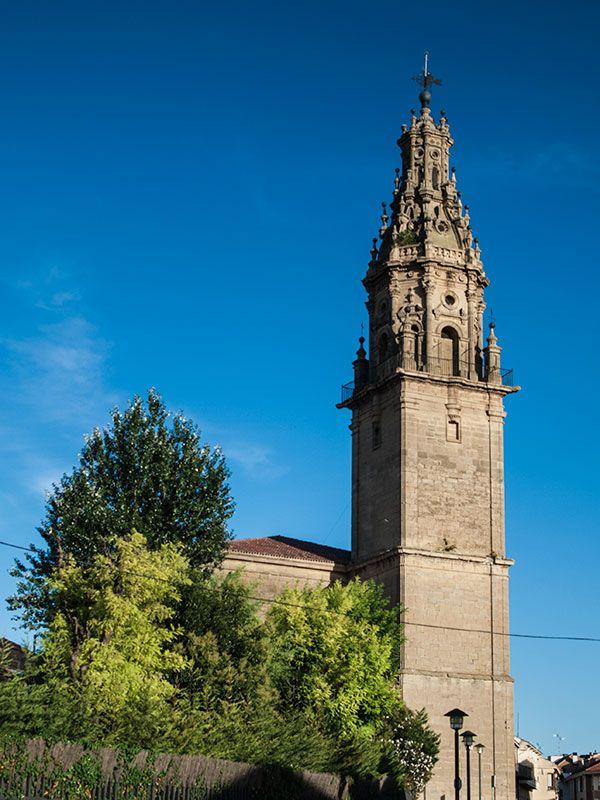 """""""La Giralda"""" de la Iglesia de Santa María de la Asunción, en Oyón"""