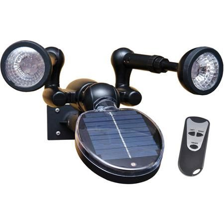 Sunforce Solar Security Light With Remote Solar Security Light Security Lights Solar Powered Security Light