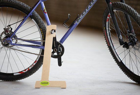 Holz Fahrradstander Wood Bike Bike Stand Bike