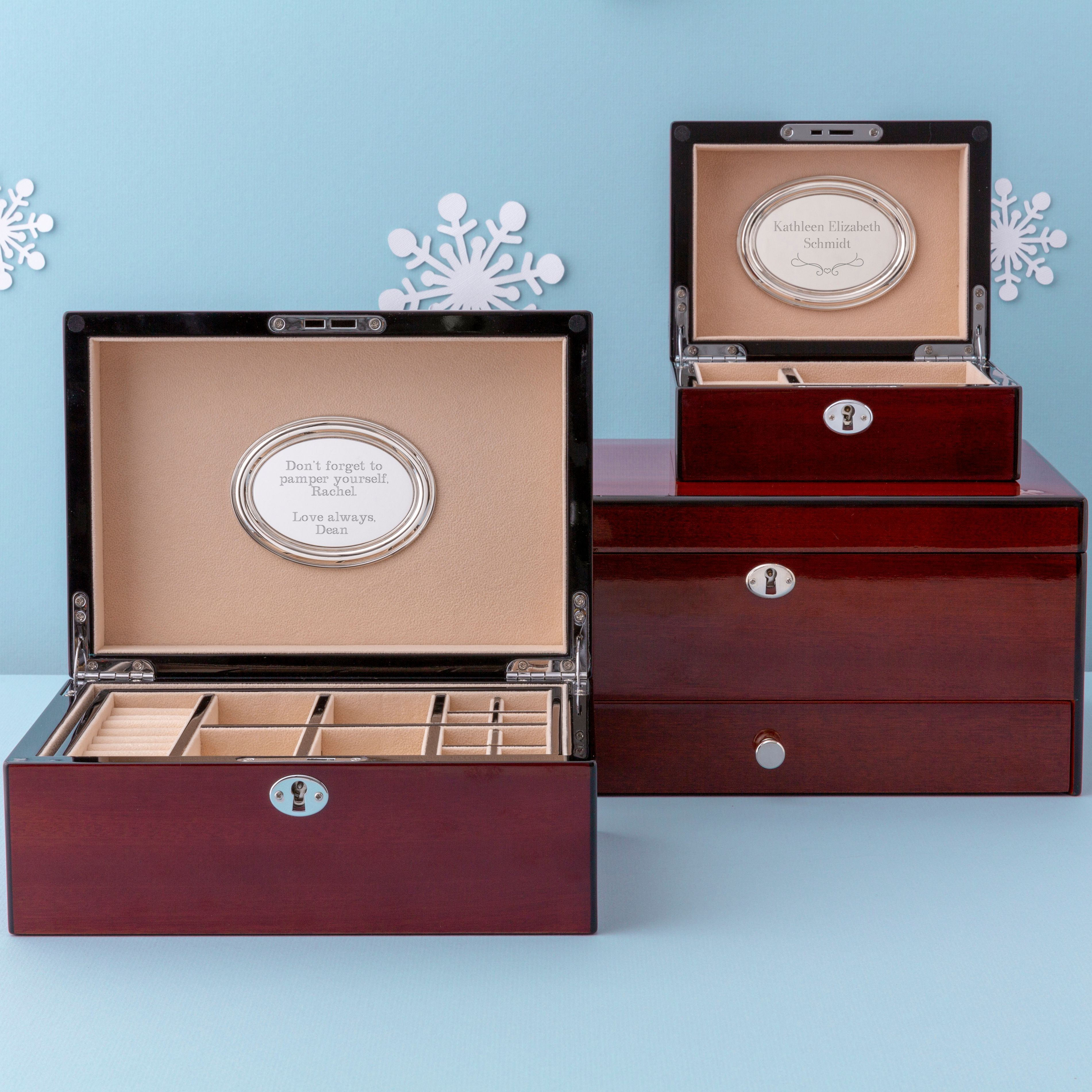 14++ Personalized jewelry box for mom ideas
