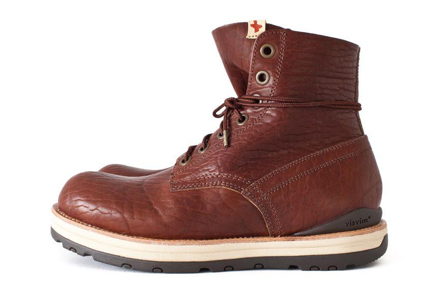 sports shoes 7279d 8a925 Image of visvim 2013 FallWinter 7 HOLE PLAIN TOE