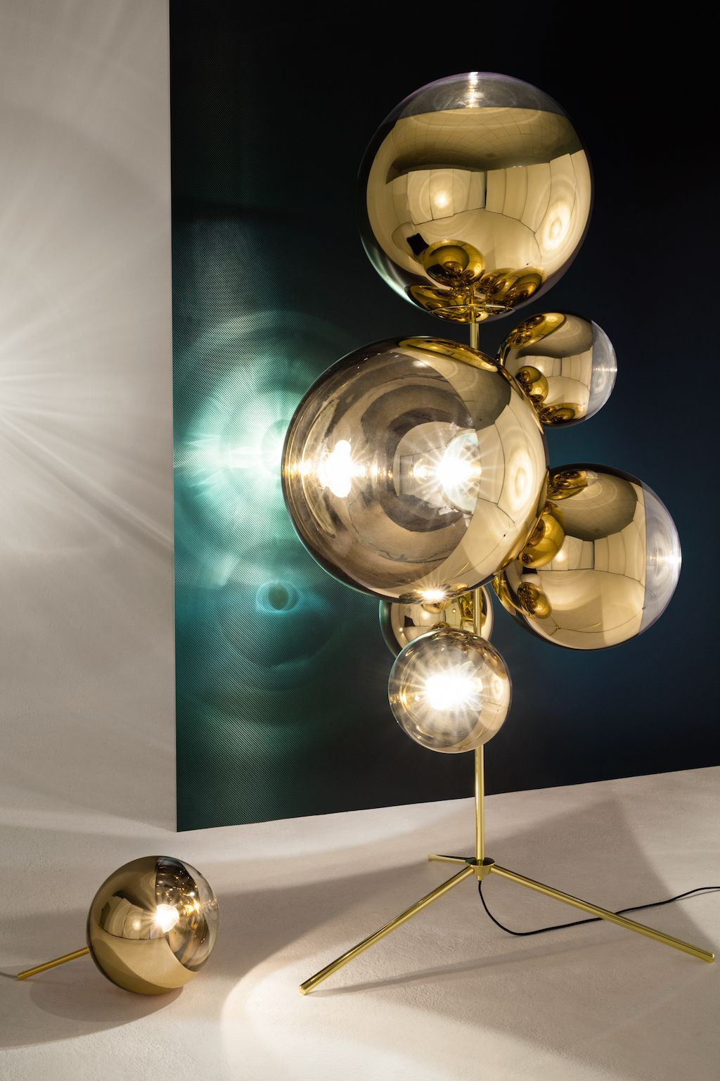 Tom Dixon Shares His Yesterday Today And Tomorrow Mirror Ball Tom Dixon Floor Lamp Lighting