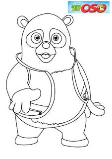 Special Agent Oso Coloring Pages Coloring Page For Kids