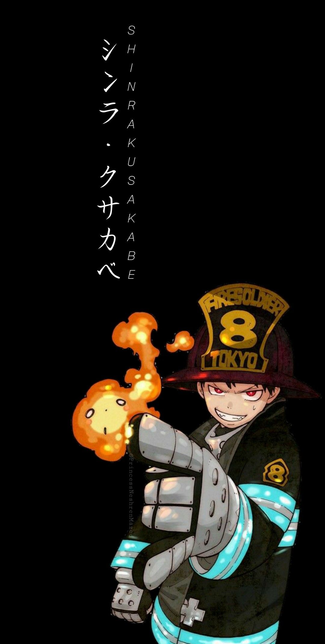 Fire Force Shinra Kusabe Wallpaper Anime Wallpaper Iphone Anime Wallpaper Cool Anime Pictures