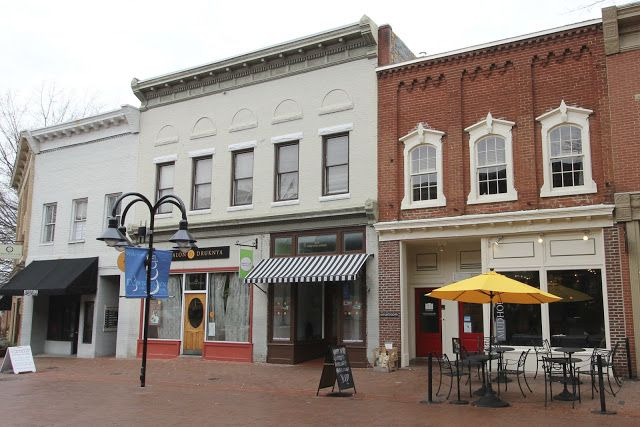 Main Street Shops Charlottesville Then And Now A Tour Through Time Block Layout Urban Planning Street