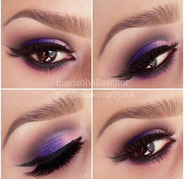Makeup | purple eyeshadow